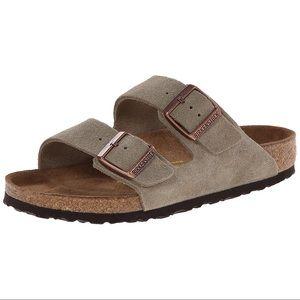 Birkenstock Arizona Suede Leather Sandals